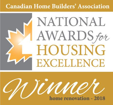 Just Basments & ARTium Design Build wins National Award