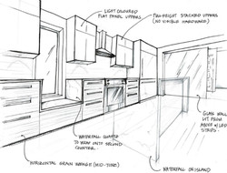117 Waverly - hand sketch