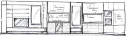 117 Waverly - hand sketch - elevation