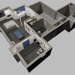 Just Basements Design Rendering
