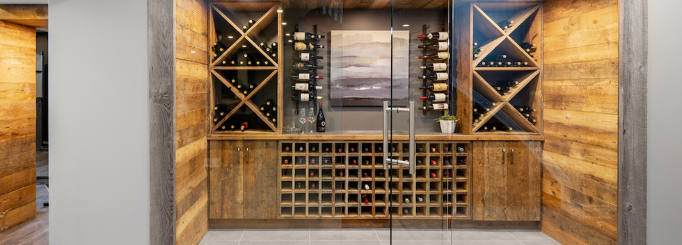 Epic Entertaining Custom WIne Cellar