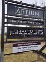 Open house & New Signage