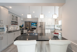 Artium Design Build - Kitchen, Dining and Living Room
