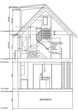 117 Waverly - Building Section - short