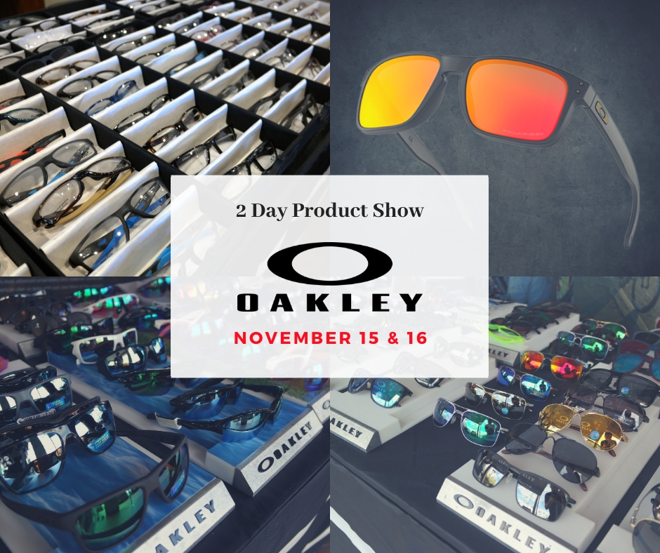 Oakley Product Show