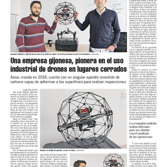 Drones para espacios confinados
