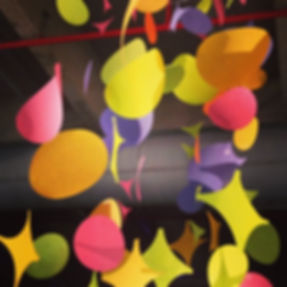 Elise Fouin mobile confetties play