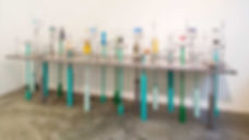 Elise Fouin Scénographie Table Exposition Concours Marraine Verallia Verre