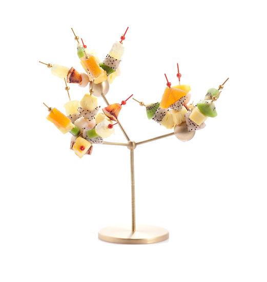 Elise Fouin Ruinart Collaboration White Tree Champagne Service de Table