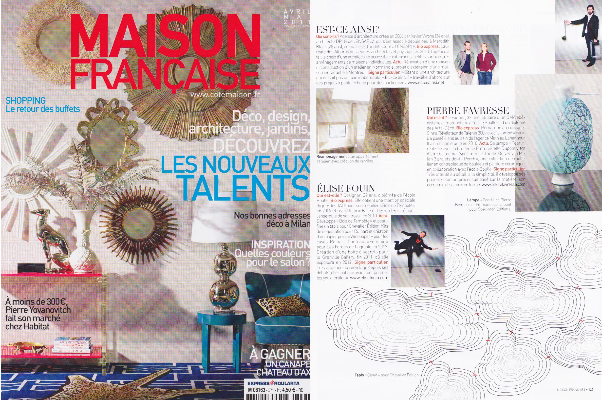 Elise Fouin Maison Française 201104