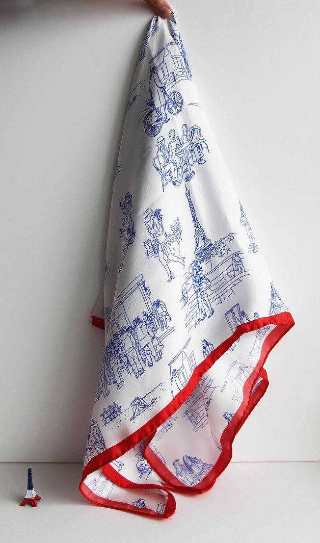 Elise Fouin foulard ma capitale jouy