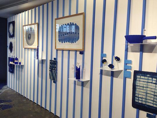 Elise Fouin Scénographie Exposition Matière Bleue Ateliers de Paris