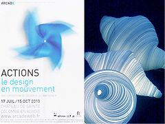 Elise Fouin Exposition Action Design en Mouvement Design à la Campagne Sainte Colombe en Auxois 2010