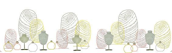 Elise Fouin Cartier Collaboration Vitrine
