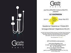 Elise Fouin Exposition Granville Gallery Paris 2013 Guéridon 2013