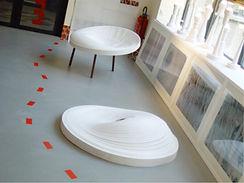 Elise Fouin Exposition MatériO Paris 2005