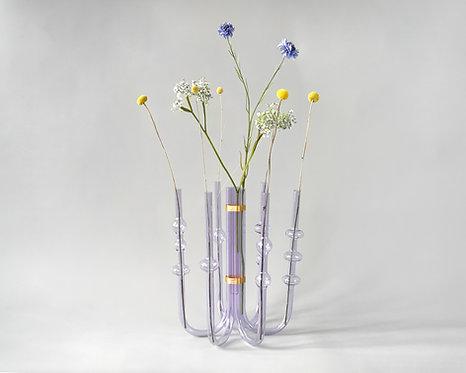 Vase SOLIFLORE U Lila (Grand)