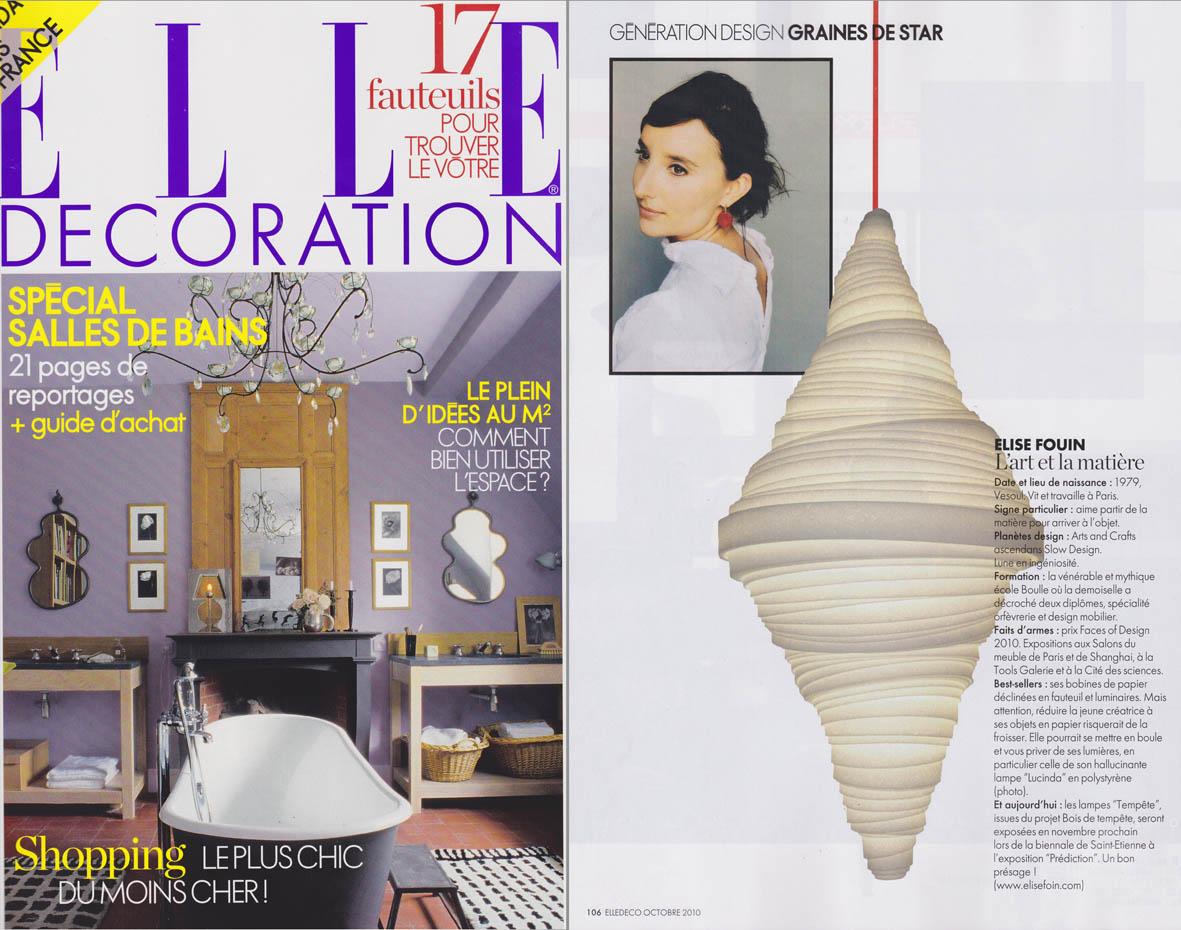 Elise Fouin Elle Décoration 201010