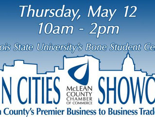 Chamber Business Showcase - May 12 at the Illinois State University's Student Bone Center