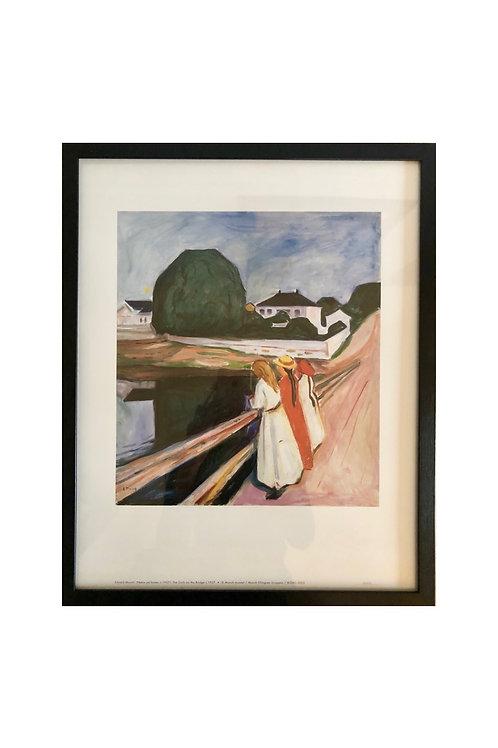 Pikene på broen av Munch