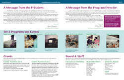 Arts Annual Report (Inside)