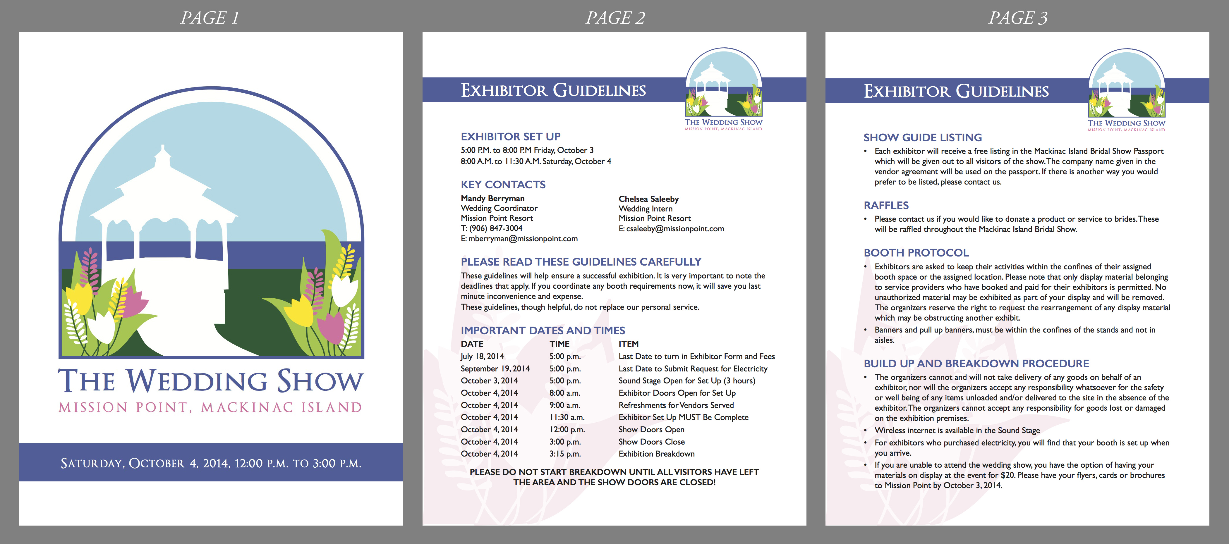 The Wedding Show Exhibitor Manual