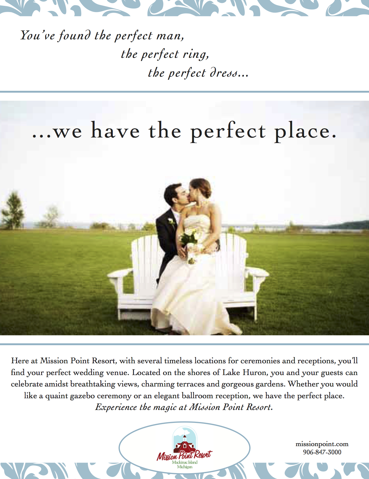 Wedding Print Ad
