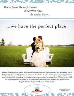 Wedding Print Ad