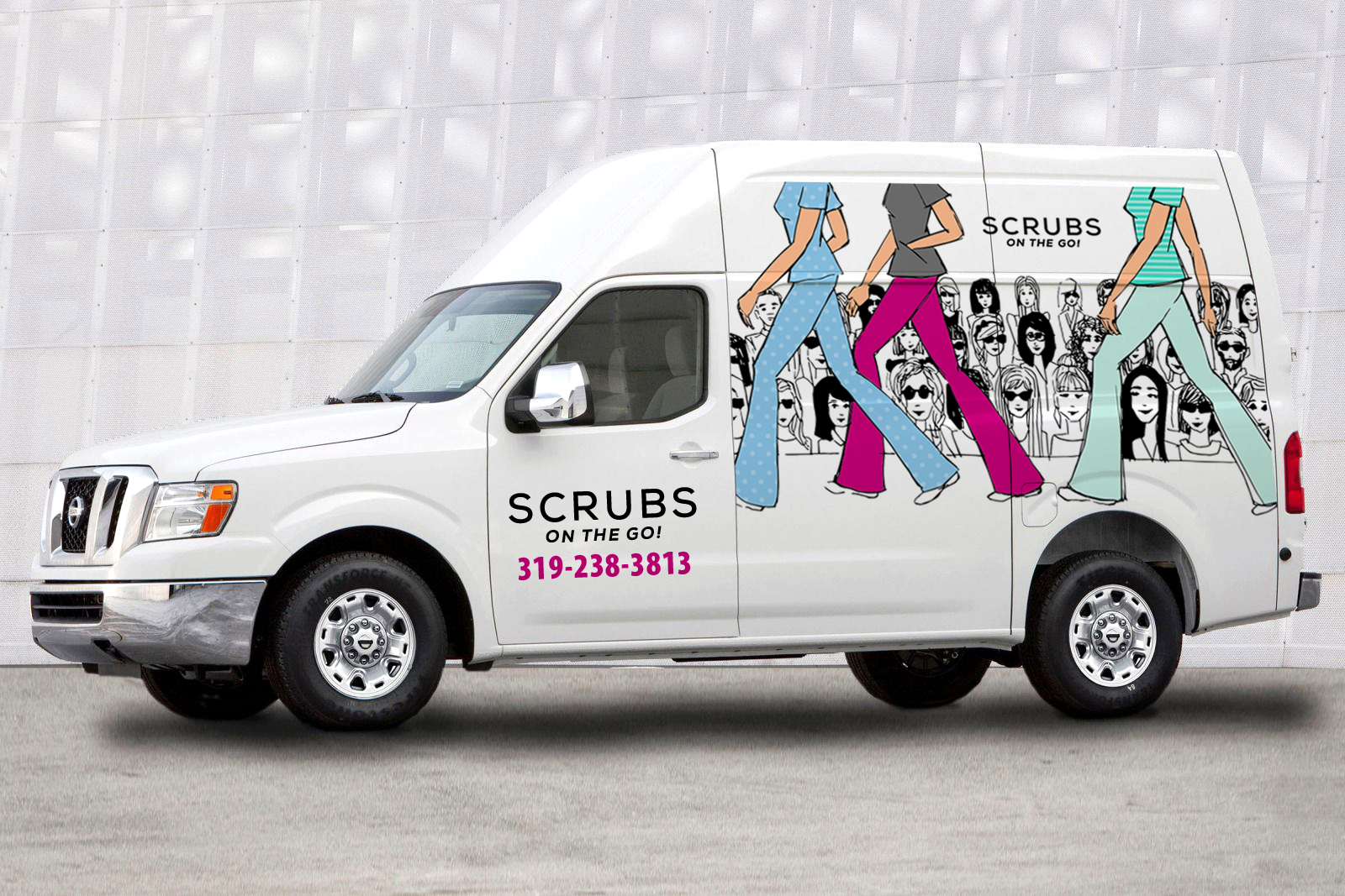 Illustration for Scrubs Van