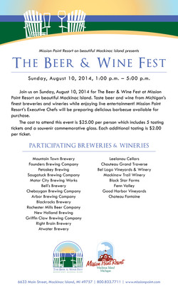 The Beer & Wine Fest Flyer