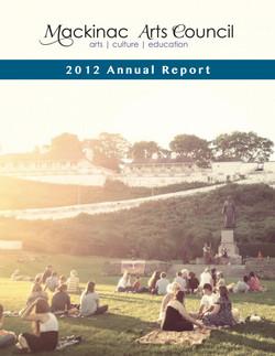 Arts Annual Report (Cover)