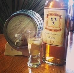 Duncan Bay Whiskey Works Label