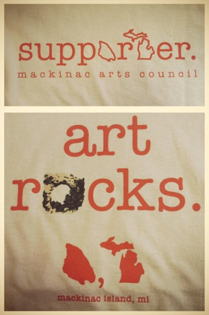 Art Rocks T-Shirt Design