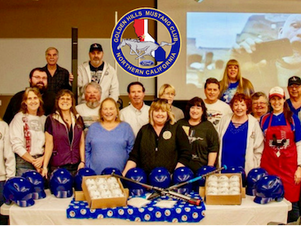 Golden Hills Mustang Club donates baseball equipment to The Tug McGraw Foundation's Mixed Nutts for