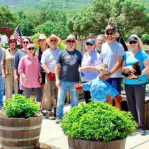 Joseph Phelps Vineyards Volunteer Day