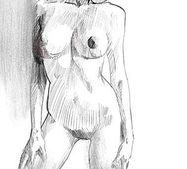 Practice Nude Sketch
