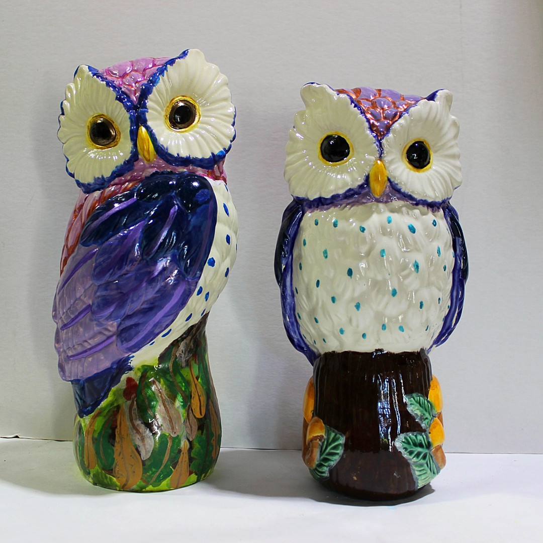 Purple Owls