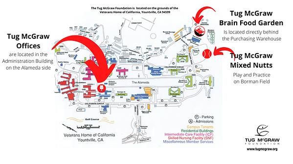 Tug McGraw-Programs-Map-Garden-Office-Bo