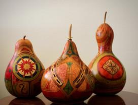 A Trio of Gourds