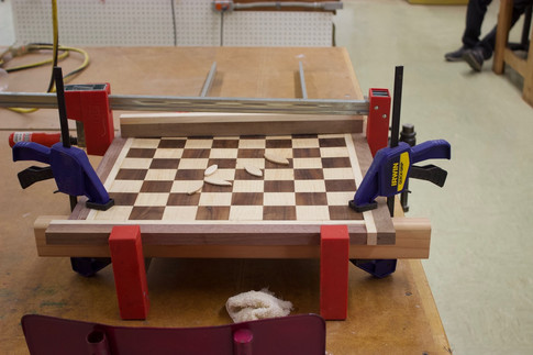 Hardwoods Chess Board