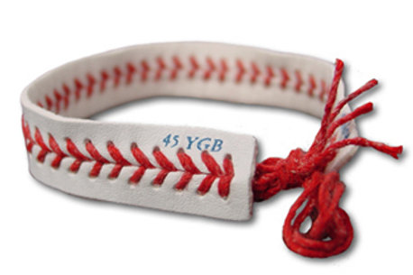 Tug McGraw Foundation Baseball Bracelet 10 Pack