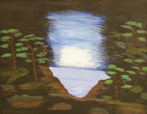 Moonlight Bay-Acrylics