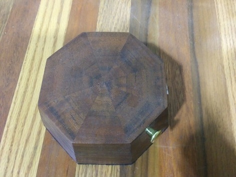 Hardwood Jewelry Box