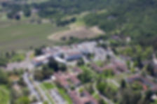 Aerial View of the Veterans Home of California, Yountville