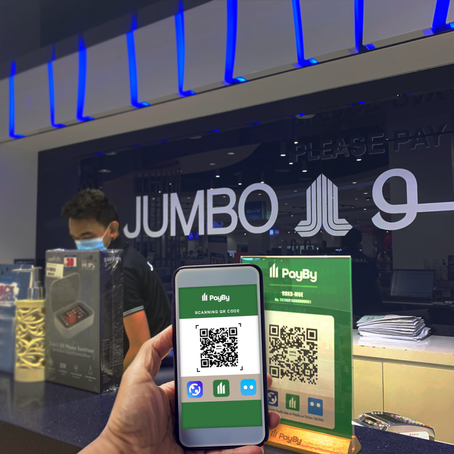 Jumbo Electronics adopts smart payment solutions from PayBy