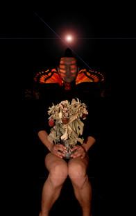 Self portrait - Moth 2013