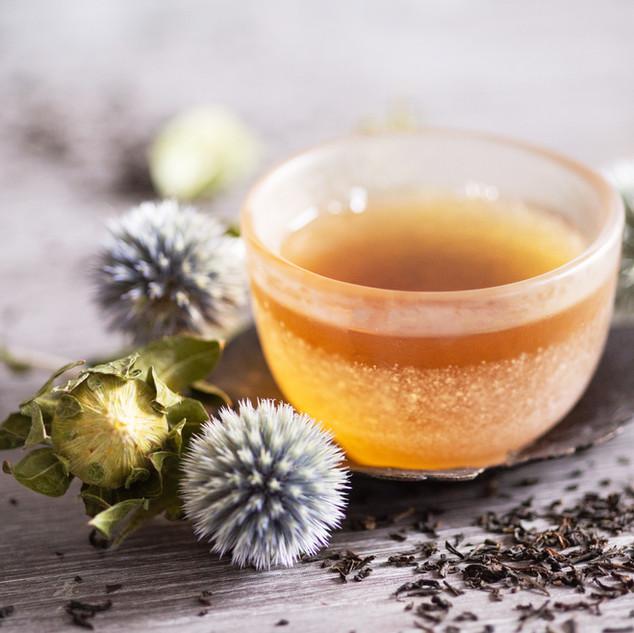 Thé noir et parfumé