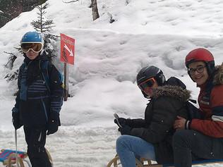 Skitag der ersten Klassen
