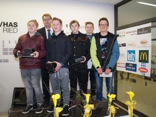 Siegerehrung - Bezirksfinale Business-Masters