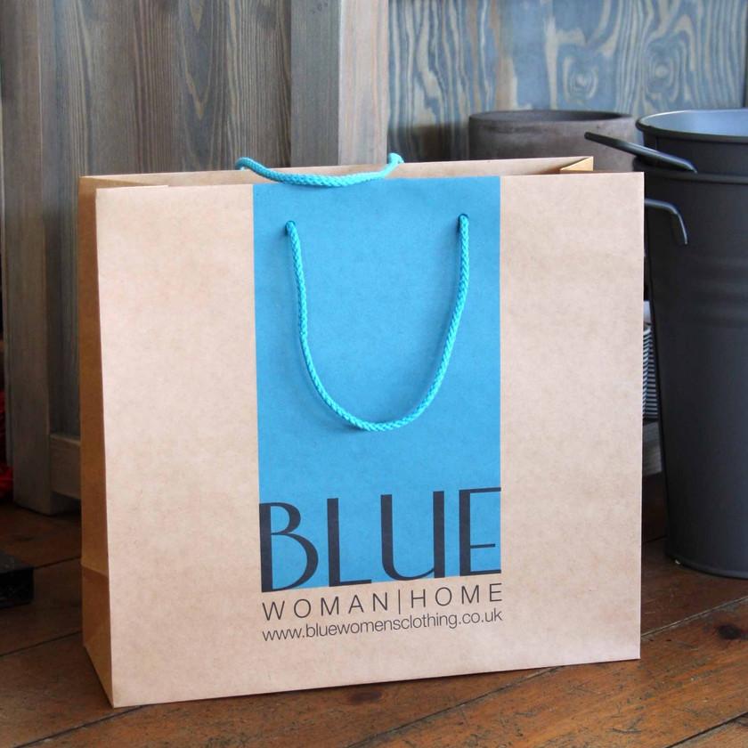 Blue Clothing Shop inside The Loft